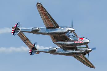 N25Y - The Flying Bulls Lockheed P-38 Lightning