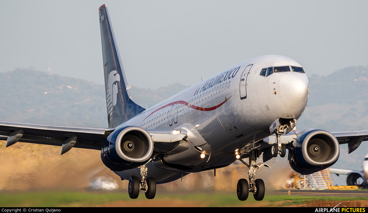 Aeromexico N860AM aircraft at San Jose - Juan Santamaría Intl