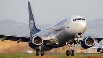 N860AM - Aeromexico Boeing 737-800 aircraft