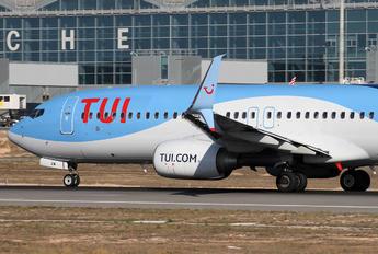 G-FDZW - TUI Airlines Belgium Boeing 737-800