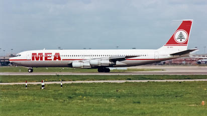OD-AHC - MEA - Middle East Airlines Boeing 707-300