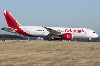 N793AV - Avianca Boeing 787-8 Dreamliner