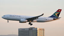 ZS-SXV - South African Airways Airbus A330-200 aircraft