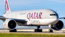 A7-BFL - Qatar Airways Cargo Boeing 777F aircraft