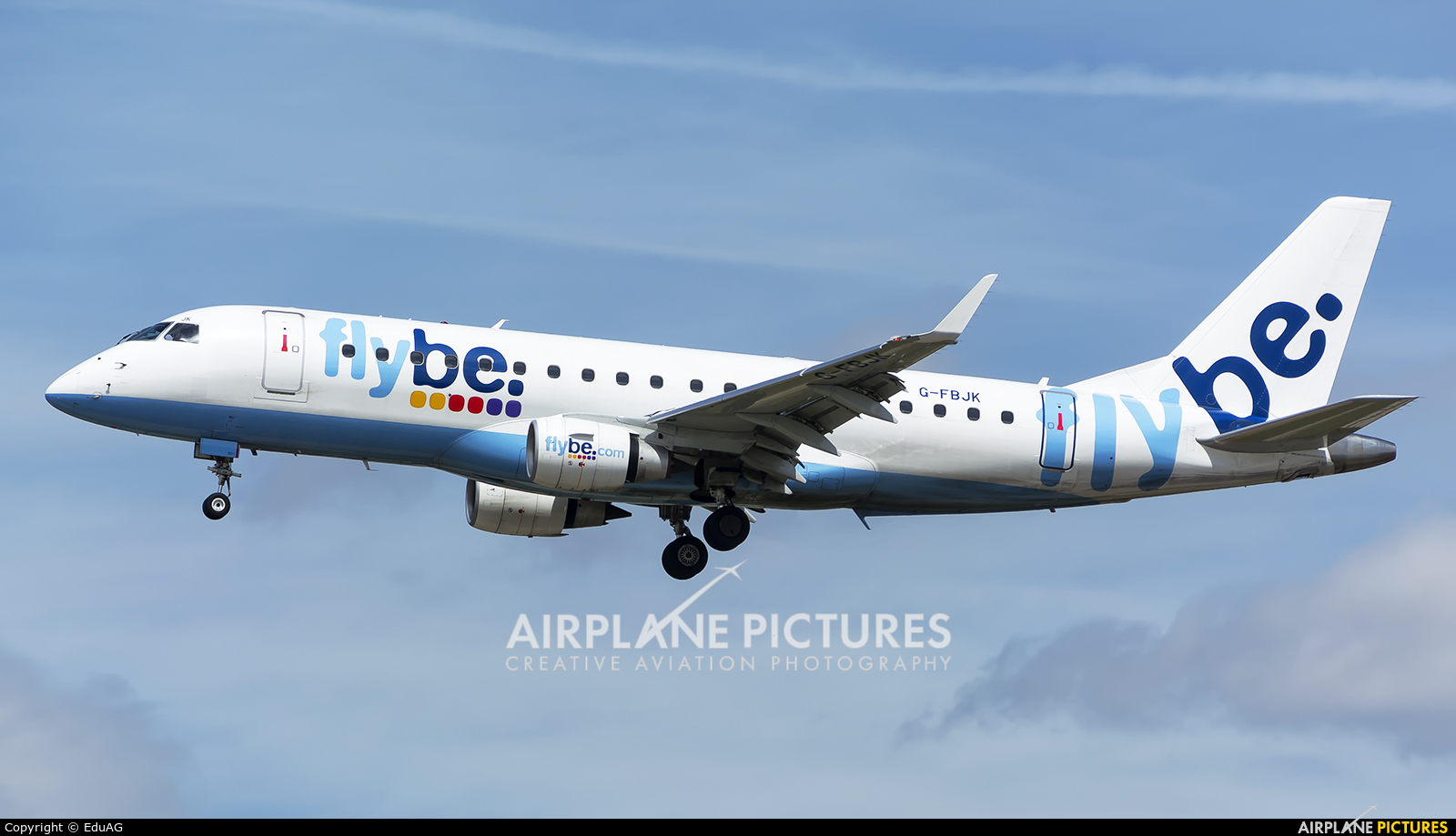 Flybe G-FBJK aircraft at Madrid - Barajas