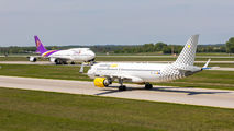 EC-LVU - Vueling Airlines Airbus A320 aircraft