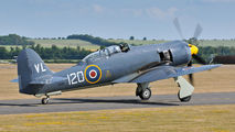 "G-RNHF - Royal Navy ""Historic Flight"" Hawker Sea Fury T.20 aircraft"