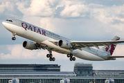 A7-AEG - Qatar Airways Airbus A330-300 aircraft