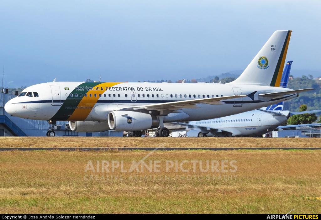 Brazil - Air Force 2101 aircraft at San Jose - Juan Santamaría Intl