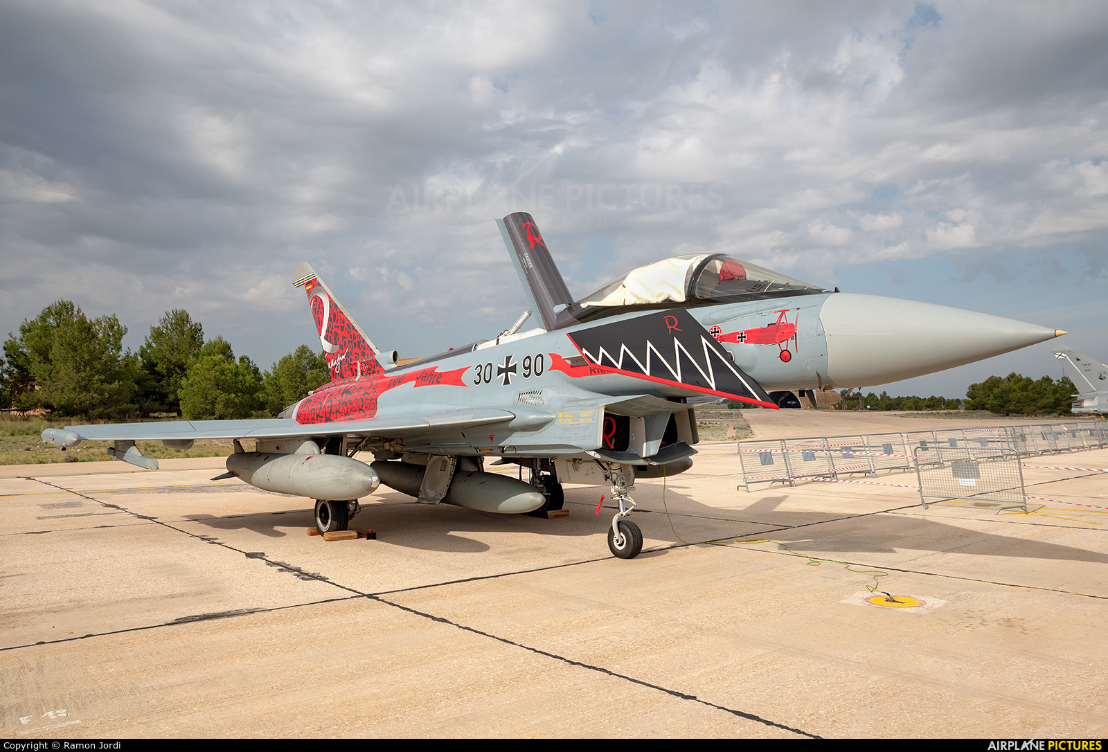 Germany - Air Force 30+90 aircraft at Albacete