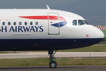 G-GATU - British Airways Airbus A320
