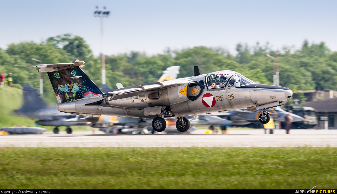 Austria - Air Force 1125 aircraft at Poznań - Krzesiny