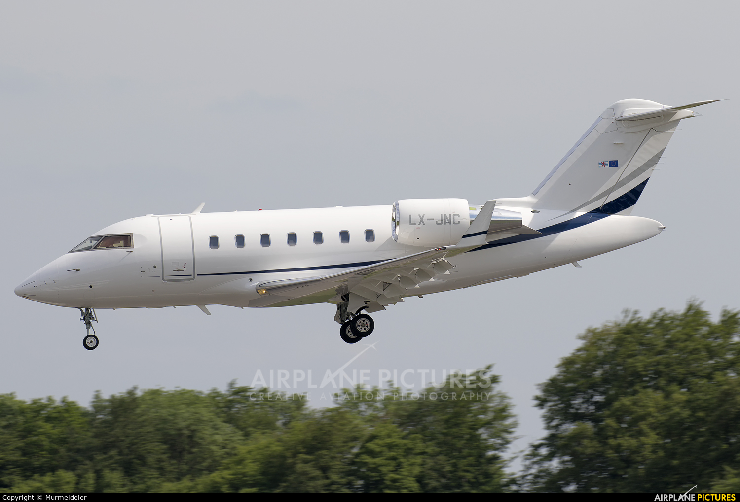 Luxaviation LX-JNC aircraft at Luxembourg - Findel