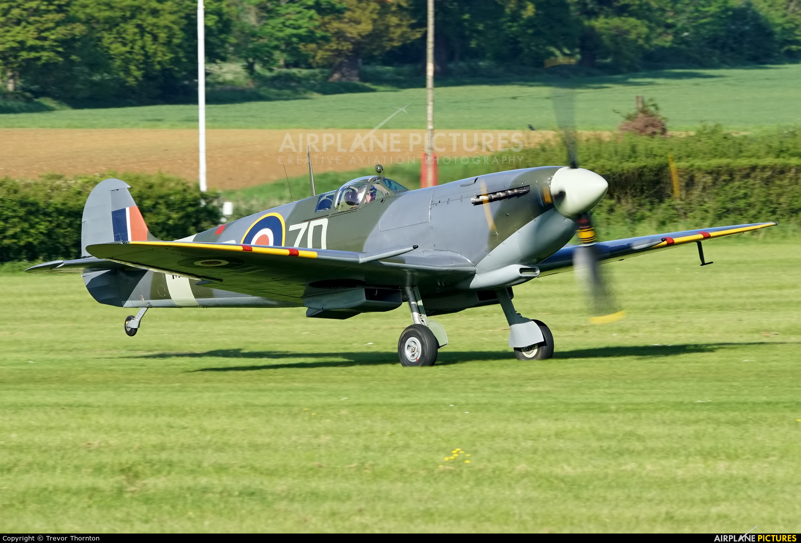 Merlin Aviation G-ASJV aircraft at Old Warden