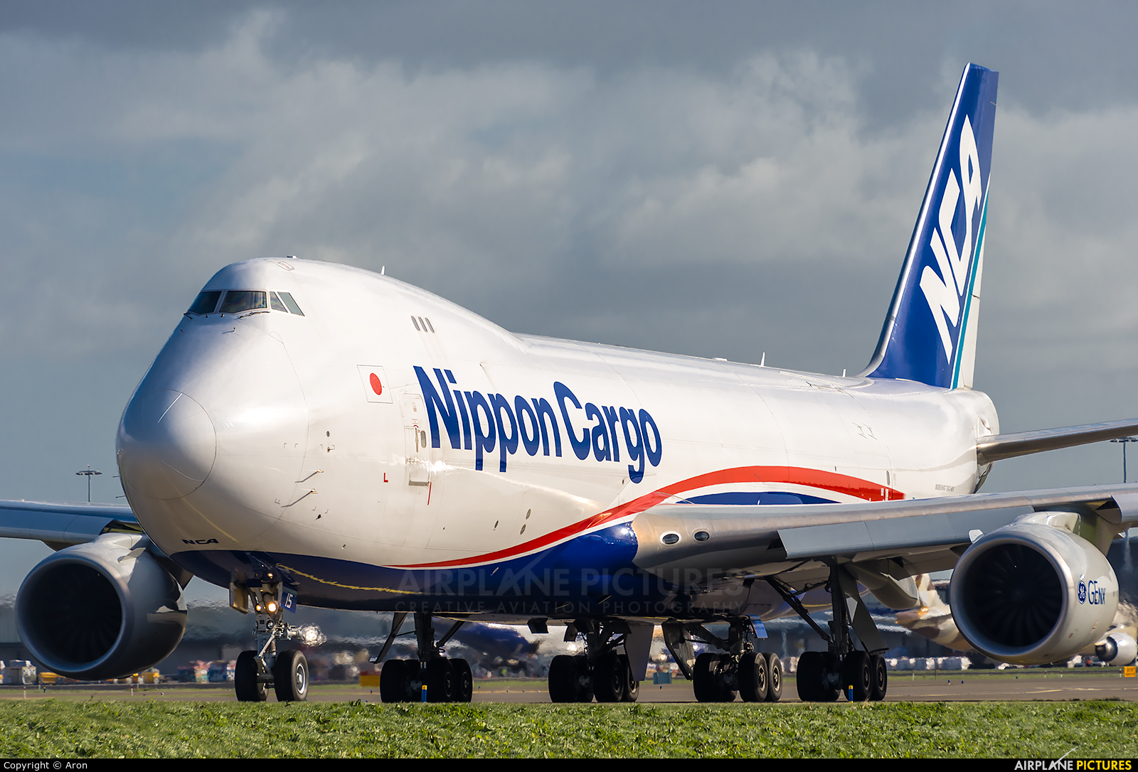 Nippon Cargo Airlines JA15KZ aircraft at Amsterdam - Schiphol