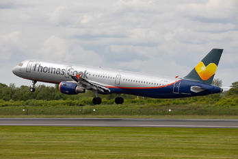 LY-VED - Thomas Cook Airbus A321