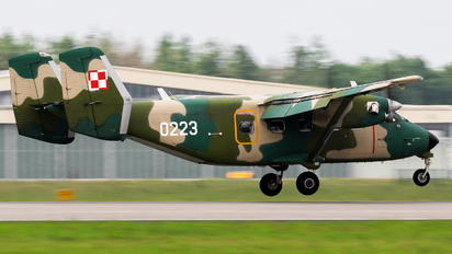 0223 - Poland - Air Force PZL M-28 Bryza