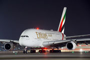 A6-EUD - Emirates Airlines Airbus A380 aircraft
