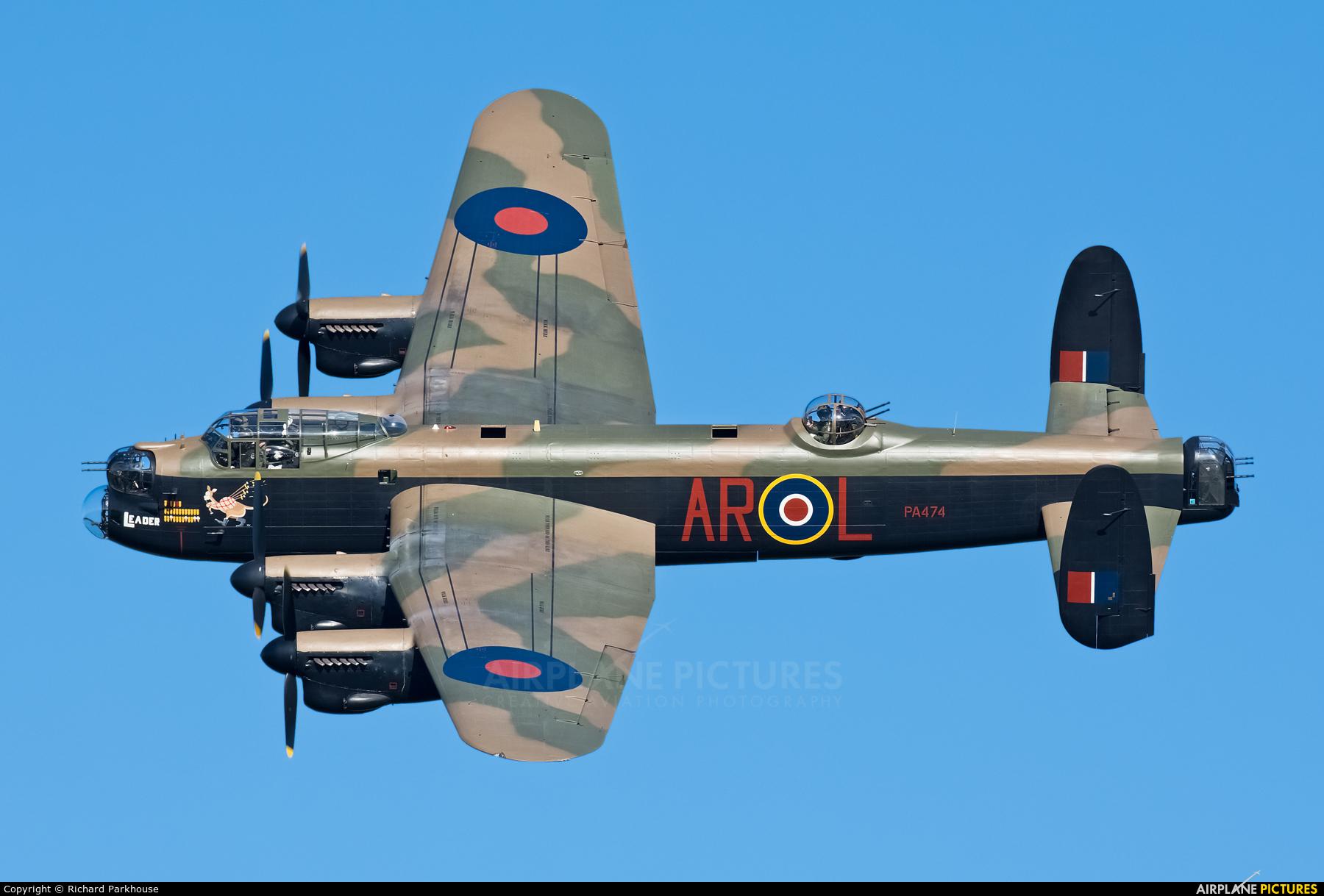 "Royal Air Force ""Battle of Britain Memorial Flight&quot PA474 aircraft at Old Warden"