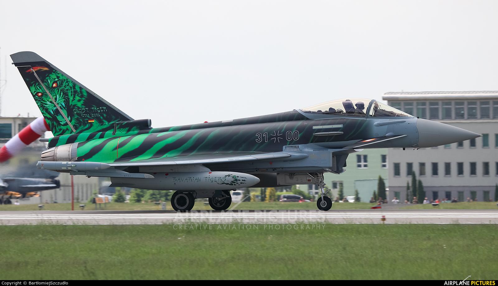 Germany - Air Force 3100 aircraft at Poznań - Krzesiny