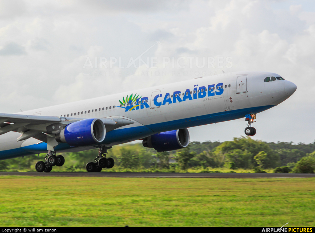 Air Caraibes F-HPTP aircraft at Guadeloupe - Pointe-à-Pitre