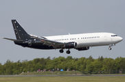 Titan Airways B734 visited East Midlands title=