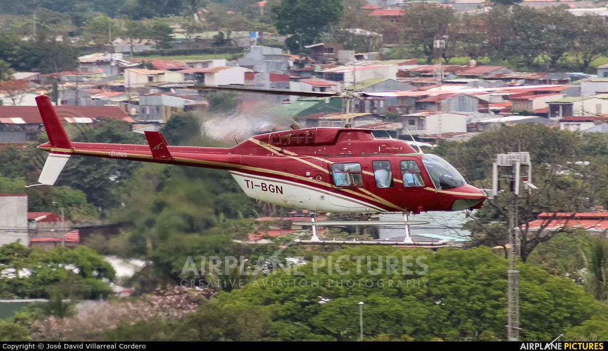 Private TI-BGN aircraft at San Jose - Juan Santamaría Intl