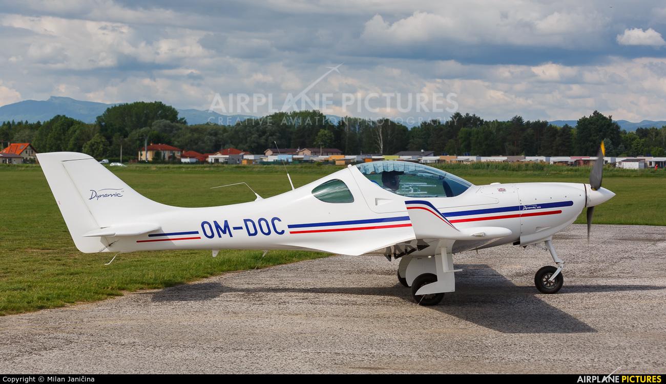 Private OM-DOC aircraft at Prievidza