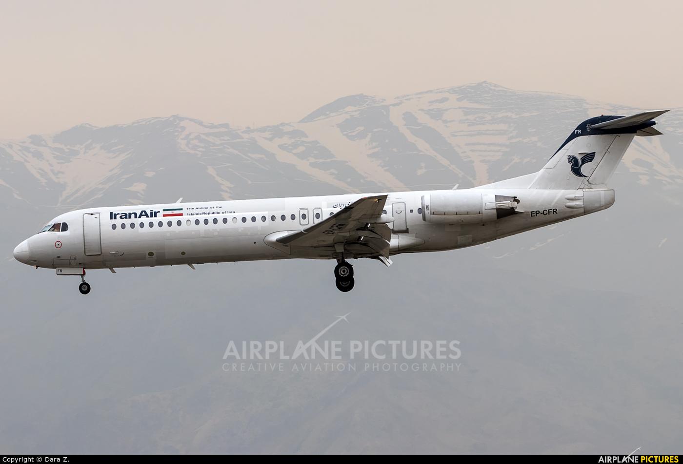 Iran Air EP-CFR aircraft at Tehran - Mehrabad Intl
