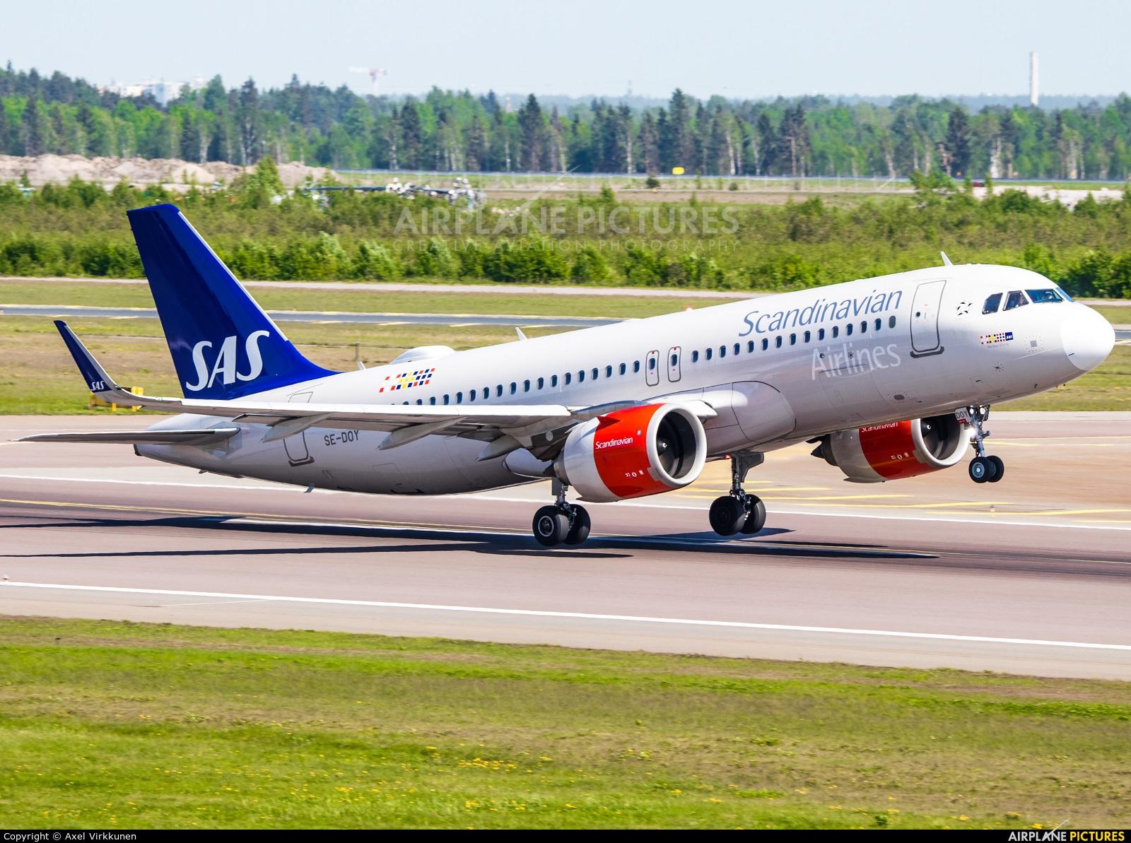 SAS - Scandinavian Airlines SE-DOY aircraft at Helsinki - Vantaa