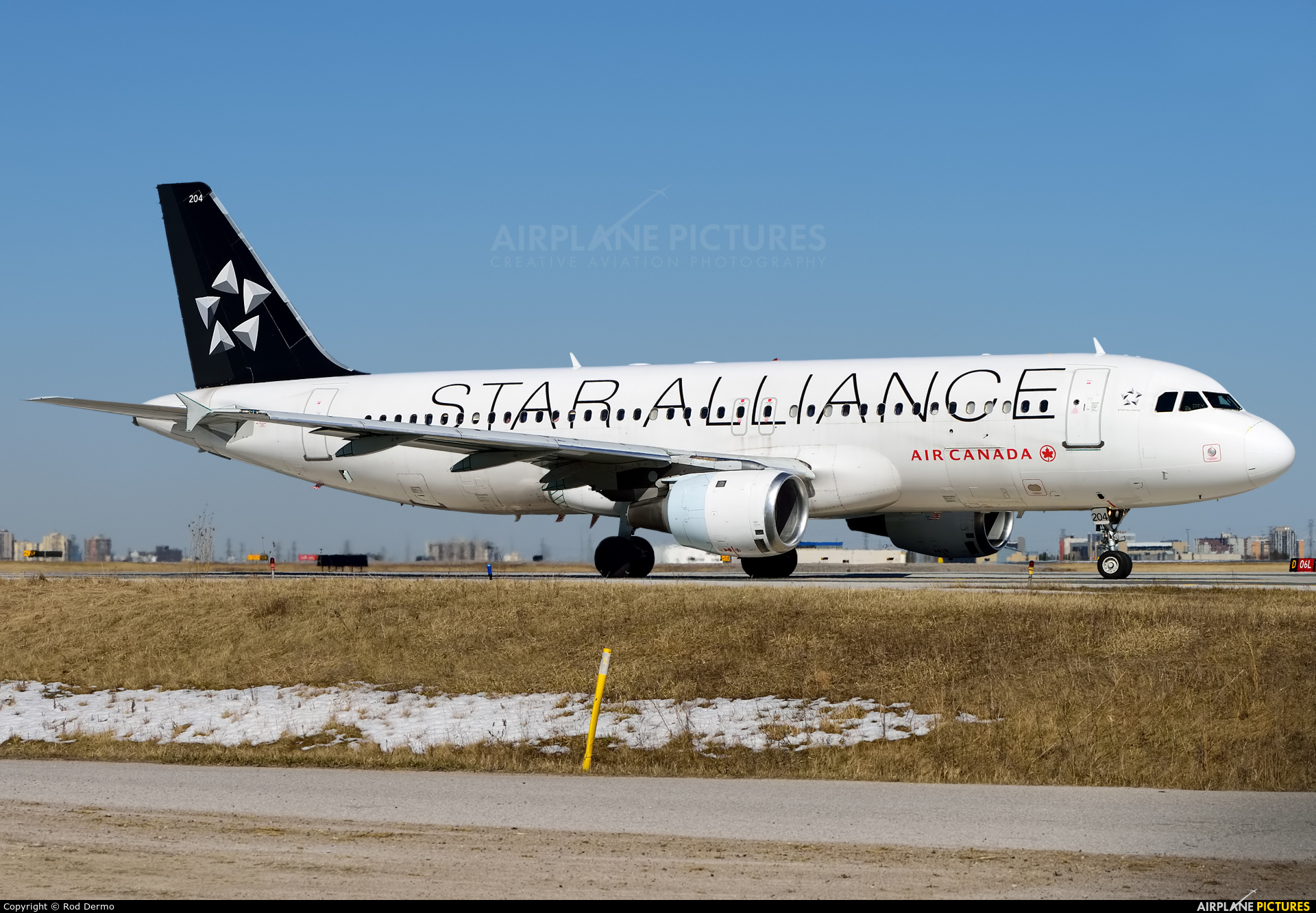 Air Canada C-FDRK aircraft at Toronto - Pearson Intl, ON