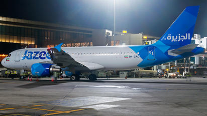 9K-CAO - Jazeera Airways Airbus A320