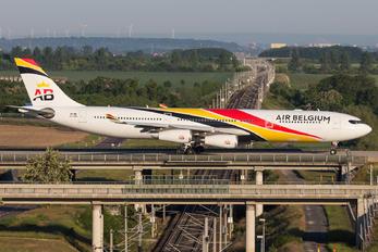 OO-ABB - Air Belgium Airbus A340-300