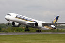 Singapore Airlines Airbus A350-900 9V-SMR at Manchester airport