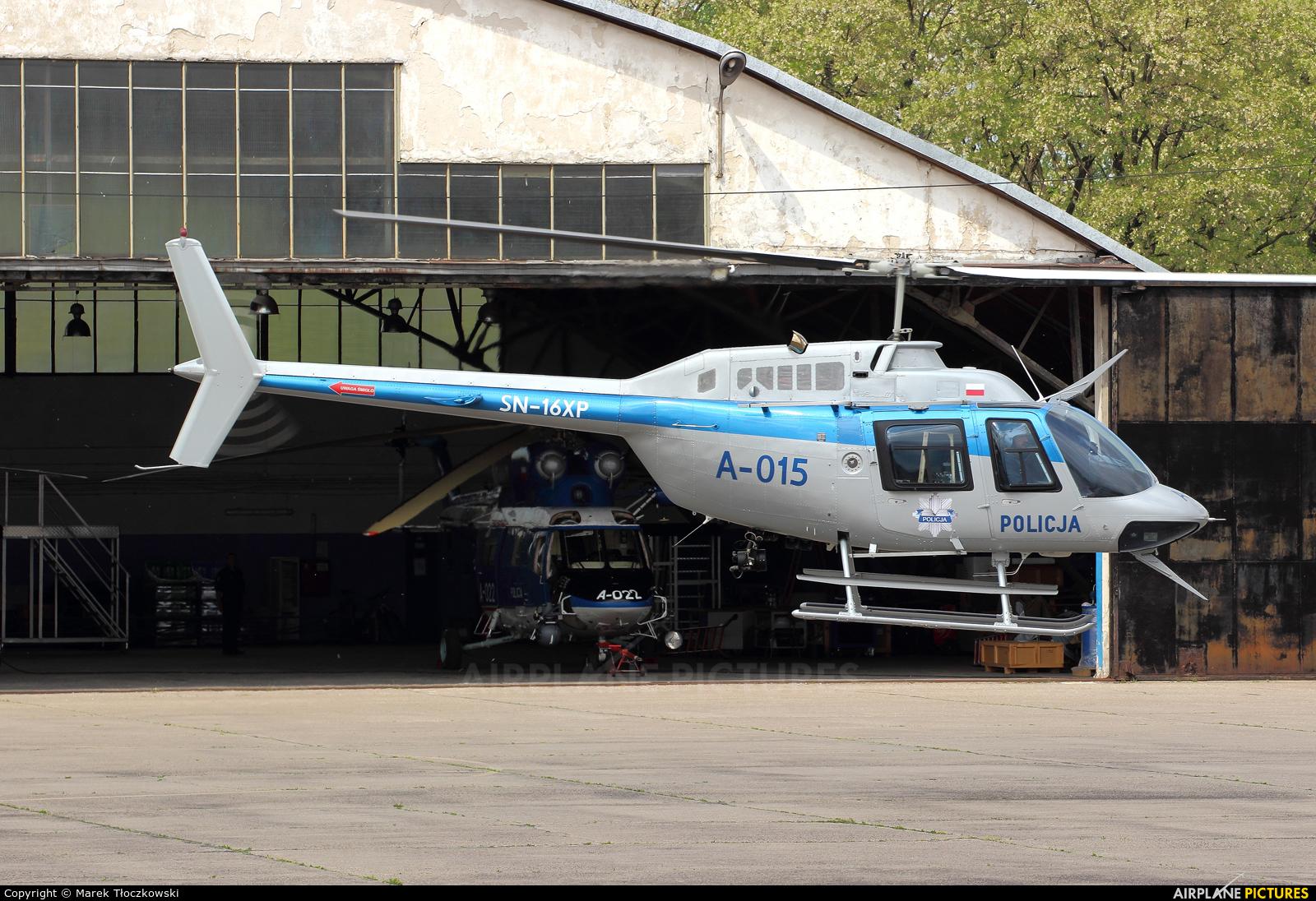 Poland - Police SN-16XP aircraft at Warsaw - Babice