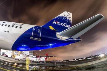 HC-CLF - Aerogal Airbus A319