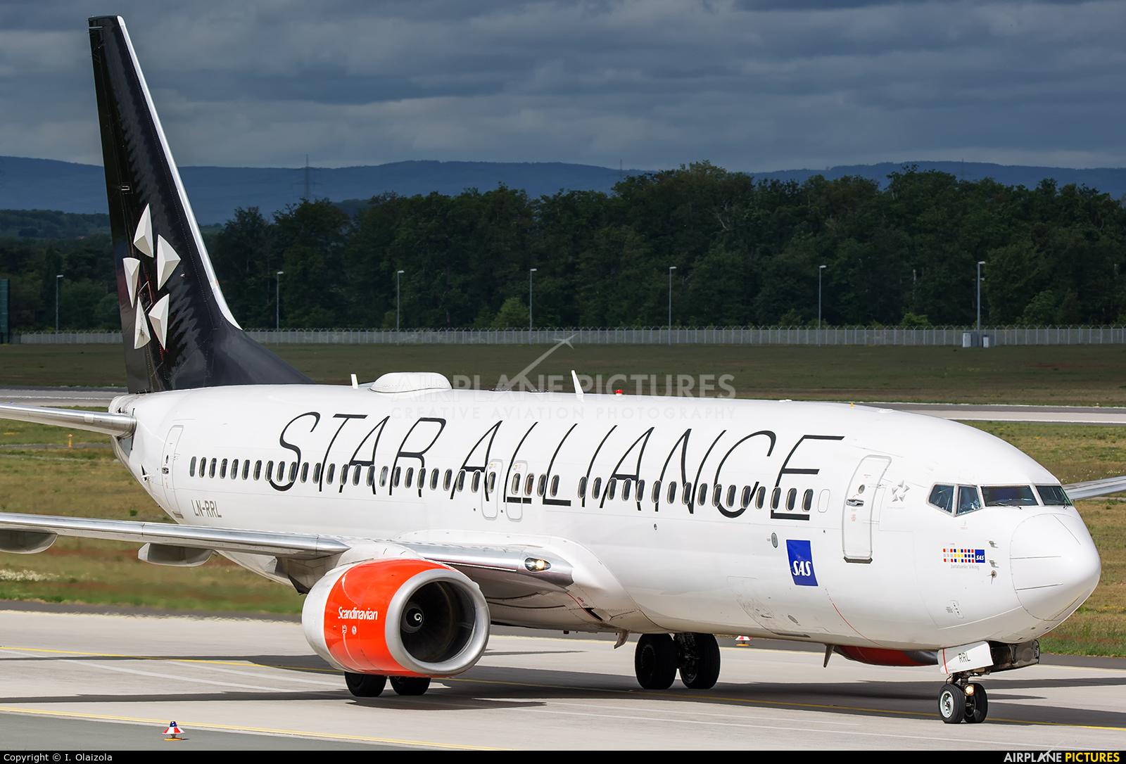 SAS - Scandinavian Airlines LN-RRL aircraft at Frankfurt
