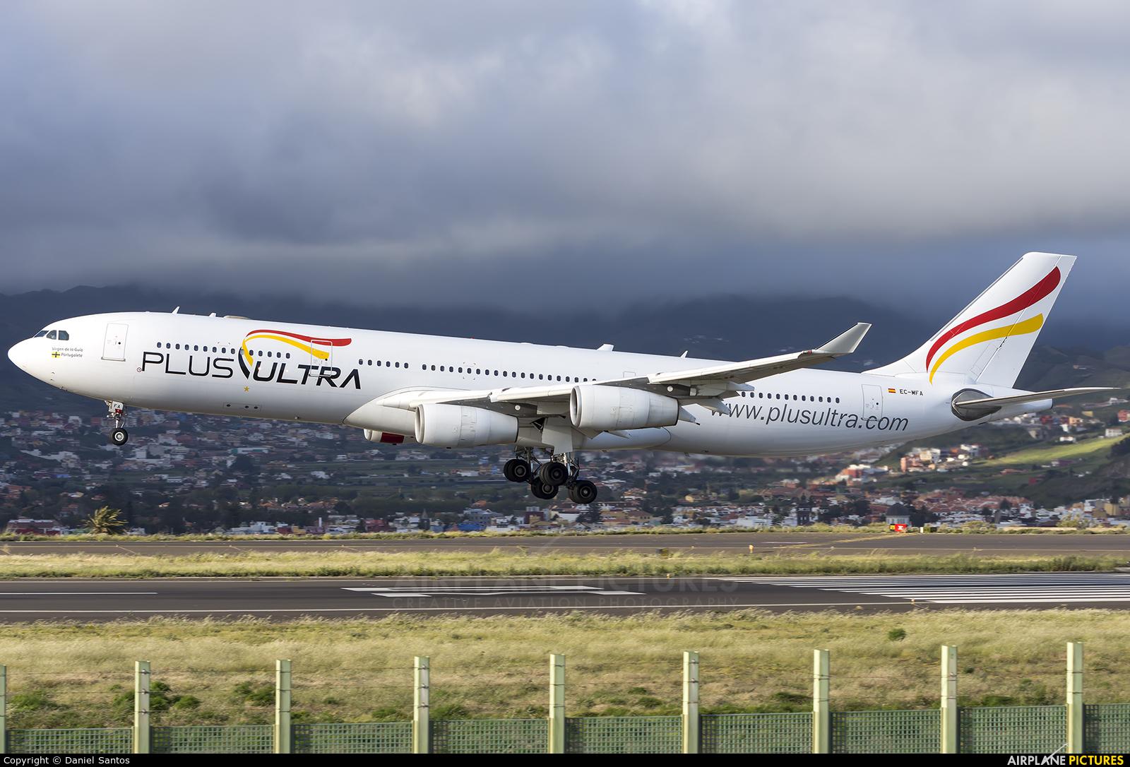 Plus Ultra EC-MFA aircraft at Tenerife Norte - Los Rodeos