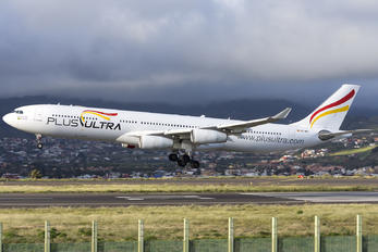 EC-MFA - Plus Ultra Airbus A340-300