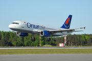 TC-OBU - Onur Air Airbus A320 aircraft
