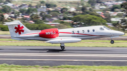N91GJ - Private Learjet 35