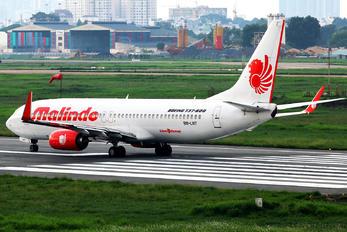 9M-LNT - Malindo Air Boeing 737-800