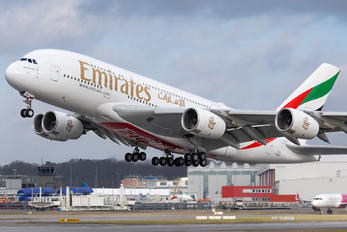 F-WWAE - Emirates Airlines Airbus A380