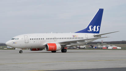 LN-RCT - SAS - Scandinavian Airlines Boeing 737-600
