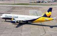 G-TCVB - Thomas Cook Airbus A321 aircraft