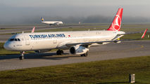 TC-JSO - Turkish Airlines Airbus A321 aircraft