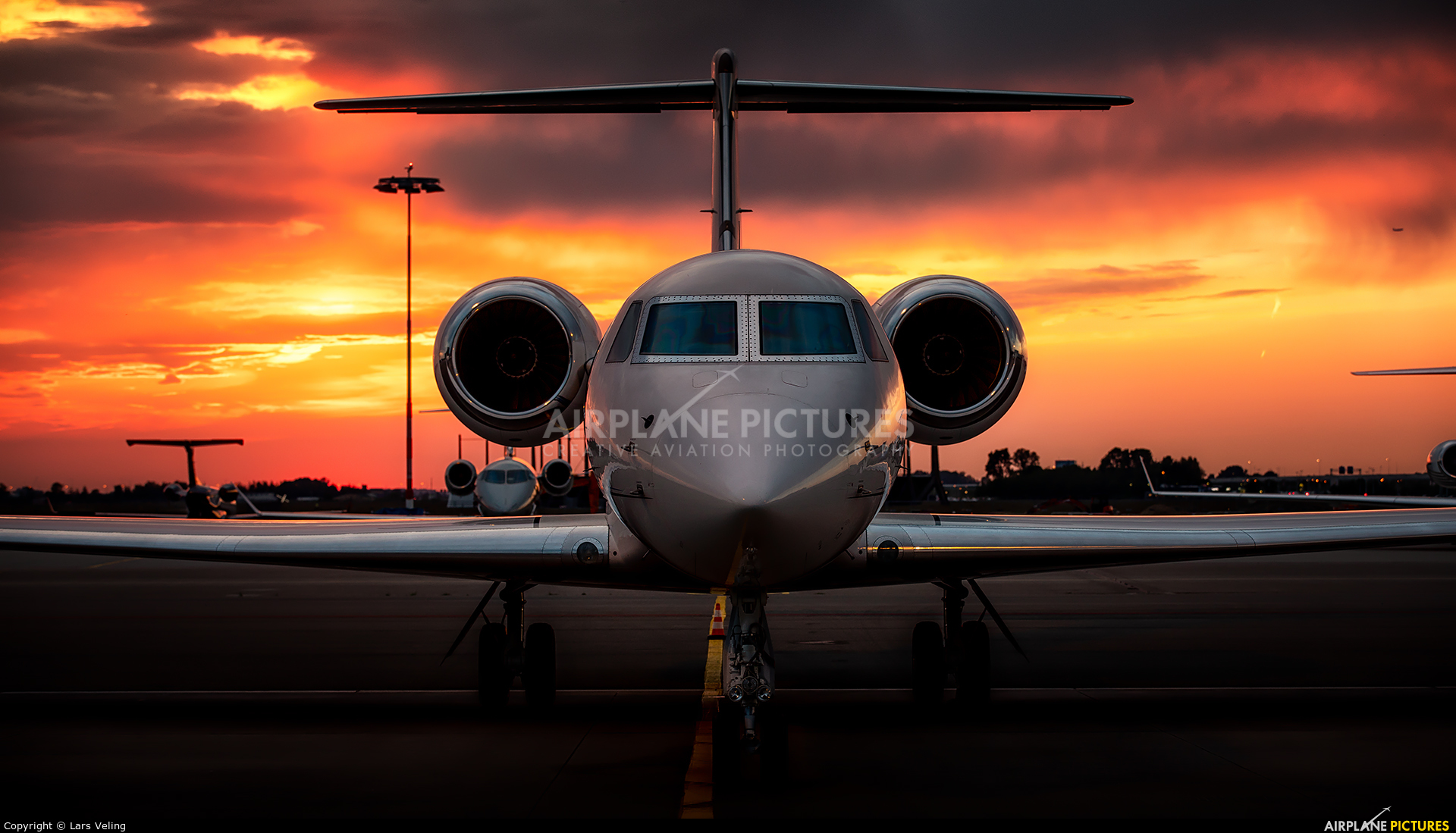 Private N1AM aircraft at Amsterdam - Schiphol