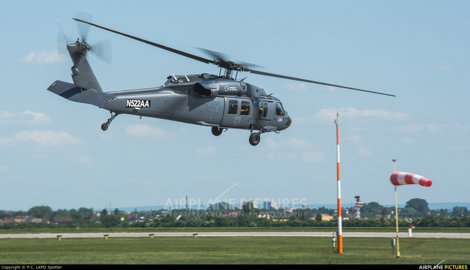 Slovak Training Academy N522AA aircraft at Pardubice