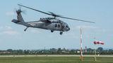 Slovak UH-60 Black Hawk visited Pardubice