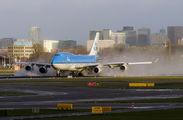 PH-BFH - KLM Boeing 747-400 aircraft